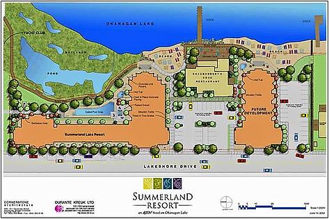 Summerland Waterfront Resort Site Plan