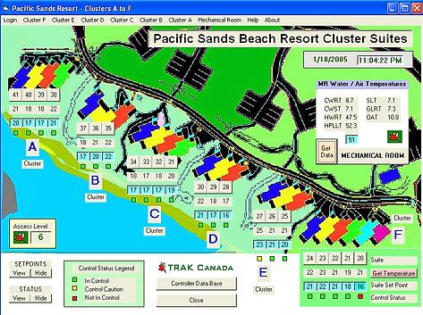 Pacific Sands Beach Resort District Energy Site Plan