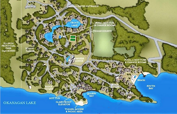 Outback Lakeside Resort Site Plan
