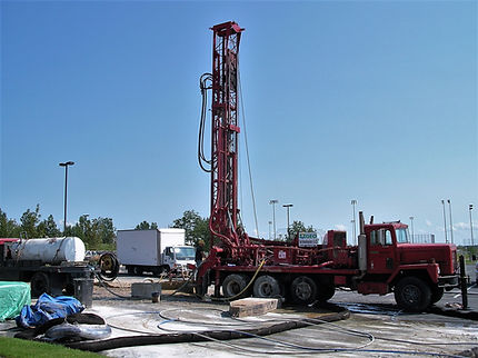 GeoExchange Borehole Drilling
