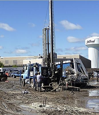 St. Cloud MAC GeoExchange  Drilling