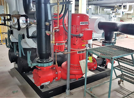 TRAK Installation Circulating Pumps FVPharma