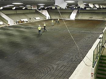 St. Cloud MAC Rink Floor