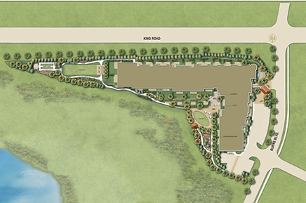 Residences of  Springhill Site Plan