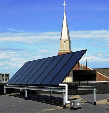 Church of St. Joseph Solar Panels