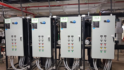TRAK Heat Pumps - FV Pharma installation