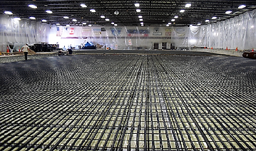 Eagan Civic Arena Rink Floor Installation