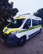 Picture of a Mobile Medical Cover Ltd Ambulance