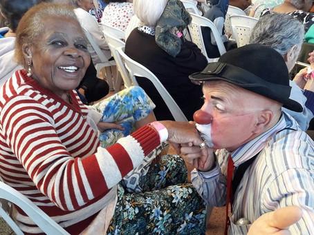 Comemoração do dia dos avós! Projeto Bem Viver - Recanto Da Saudade, 27 de julho 2019.