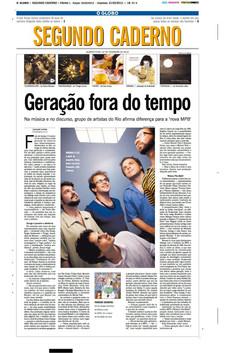 Geracao fora do tempo Globo