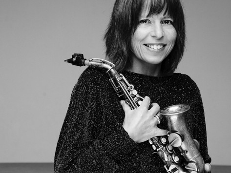 Bei ERNA zu Gast: Christine Rall vom Raschèr Saxophone Quartet