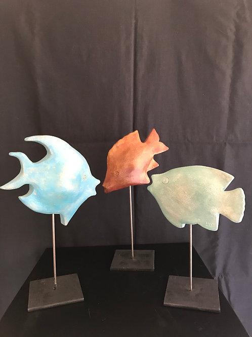 Trio de petits poissons