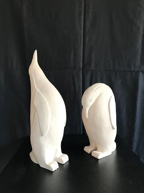Couple de manchots