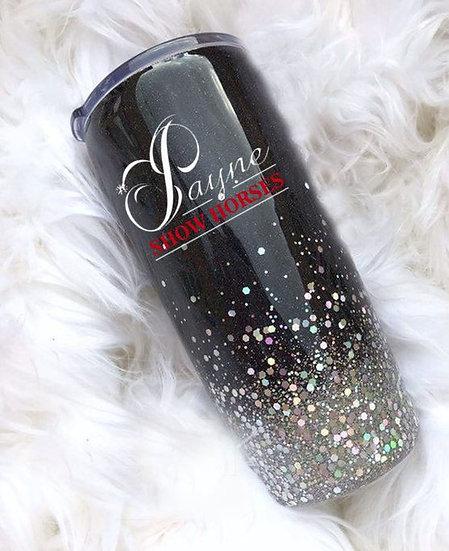 Payne Glittered Tumbler