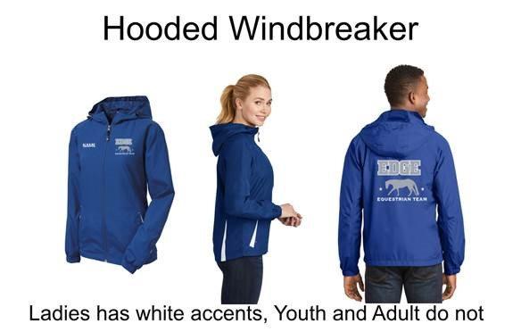 Edge Hooded Windbreaker
