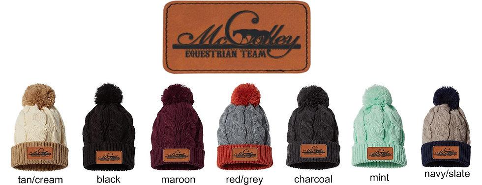 McColley Beanie Hats with POM POM