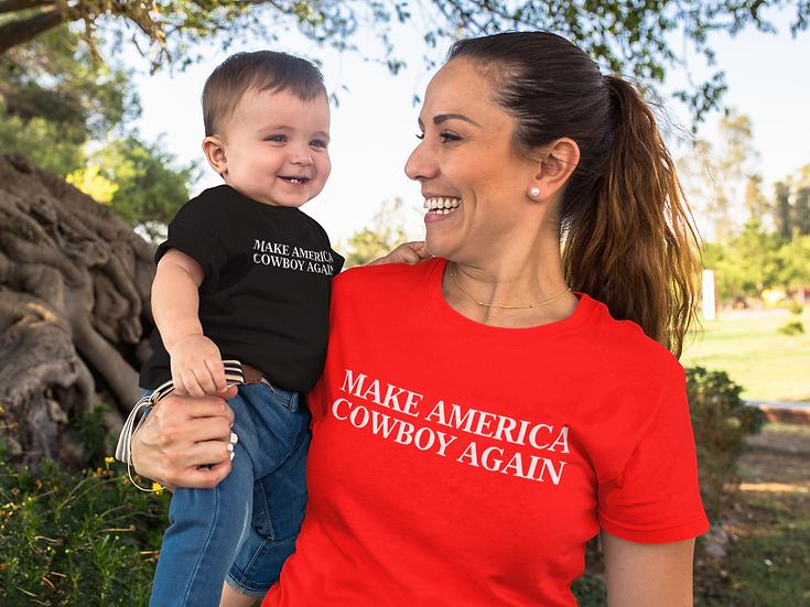 Make America Cowboy Onesie & Toddler