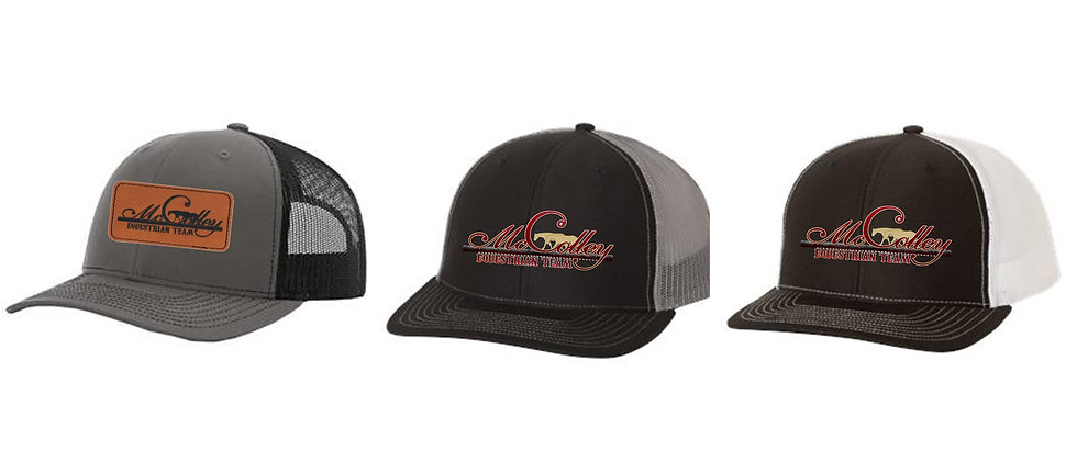 McColley Embroidered or Patch Trucker Hat