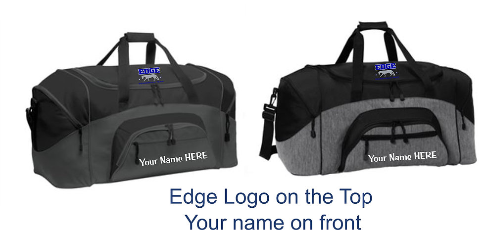 Edge Custom Duffle Bag