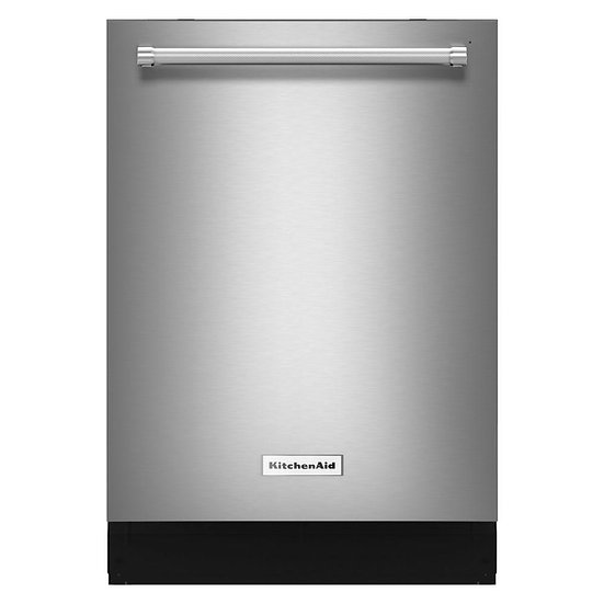 KitchenAid - Top Control Dishwasher in Stainless Steel with Stainless Steel Tub