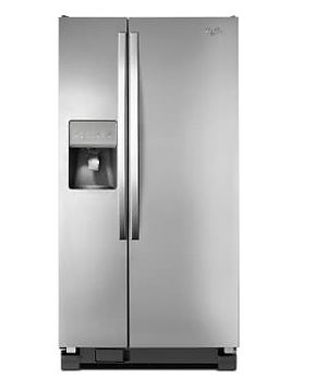 Whirlpool Side By Side Stainless Fridge