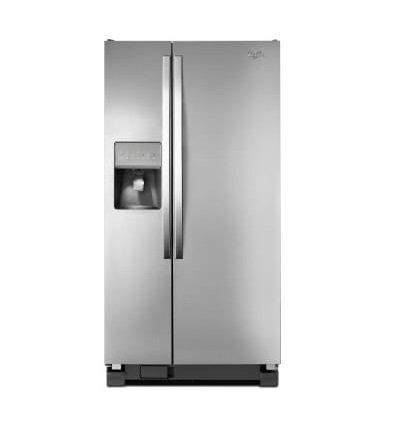 Whirlpool - 33 Inch Side-by-Side Refrigerator 21 cu. ft.