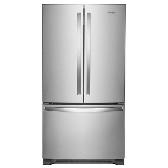 Whirlpool - 36-inch Wide French Door Refrigerator w/Water Dispenser - 25 cu. ft.