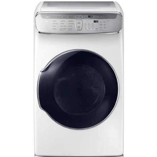 Samsung - FlexDry 7.5-cu ft Electric Dryer (White)