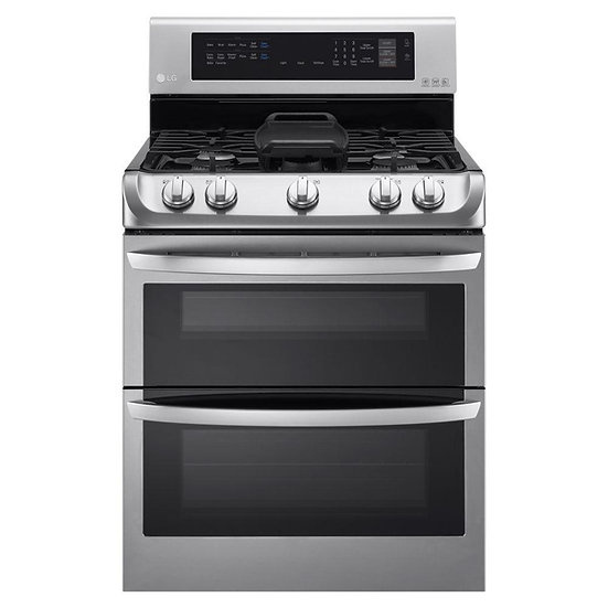 6.9 cu. ft. Double Oven Gas Range with ProBake Convection Oven Stainless Steel