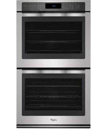 Whirlpool - 10.0 cu. ft. Double Wall Oven