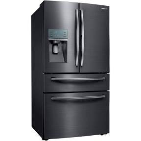 Samsung - Showcase 27.8 Cu. Ft. 4-Door French Door Refrigerator -Black Stainless