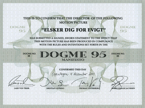 Özgürlükçü sinema kuramı: Dogma 95