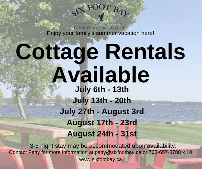 Cottage Vacancies