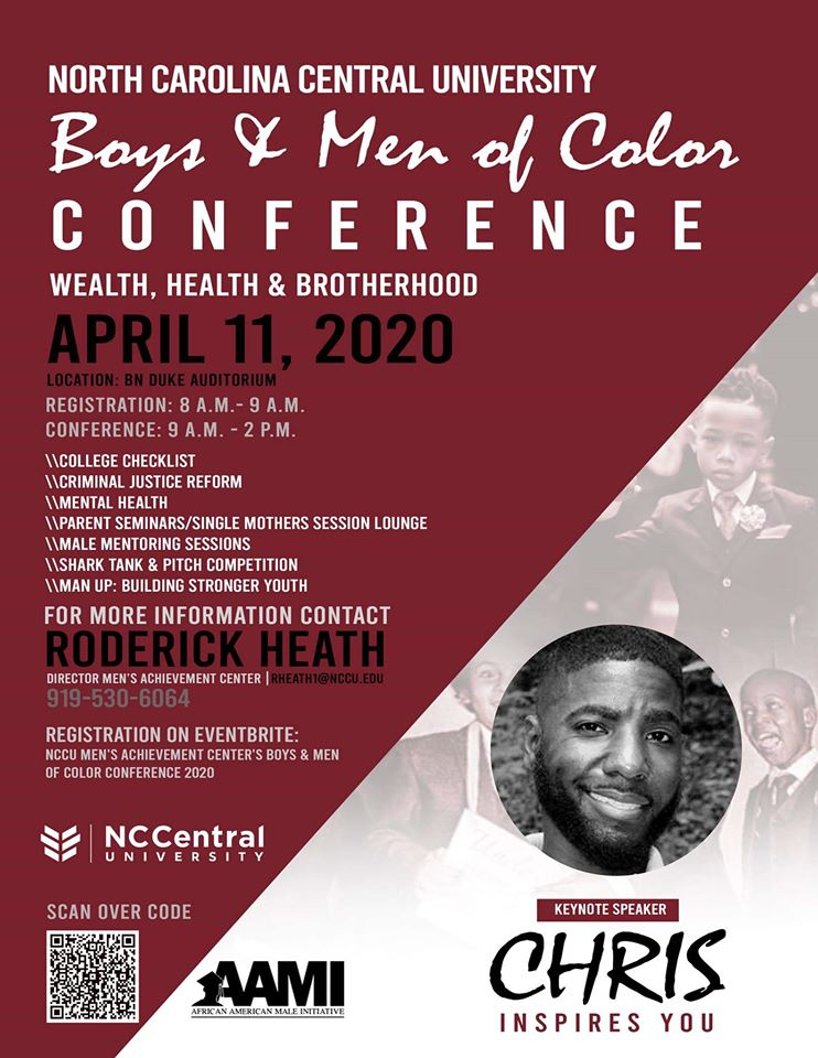 NCCU Boys and Men of Color Conference 20