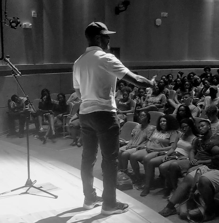 ChrisInspiresYou speaks at UNC