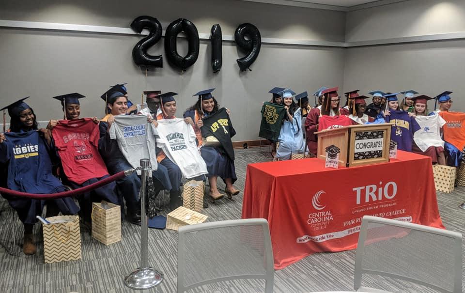 Upward Bound graduates