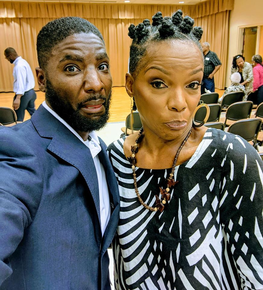 ChrisInspiresYou and Nnenna Freelon