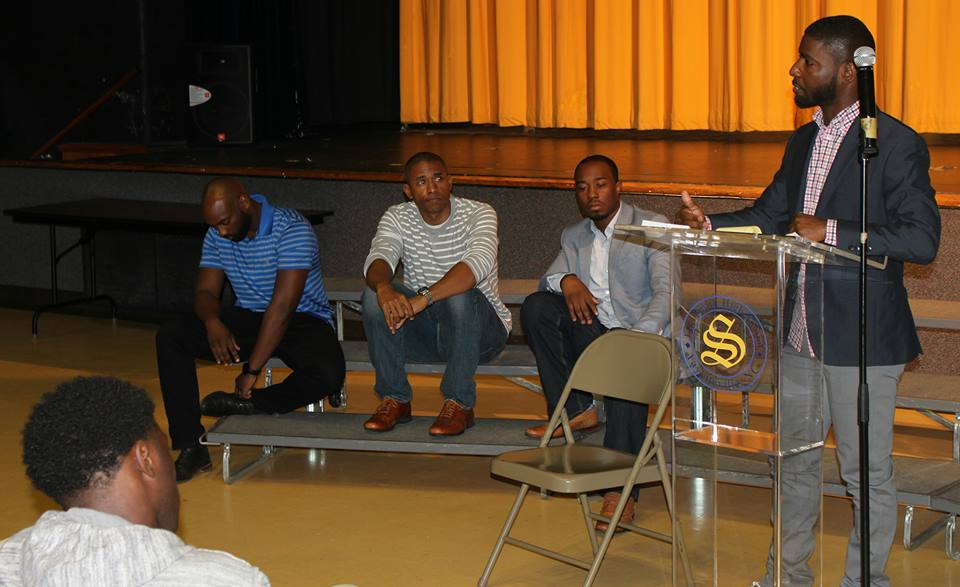 chris at e.e. smith high school