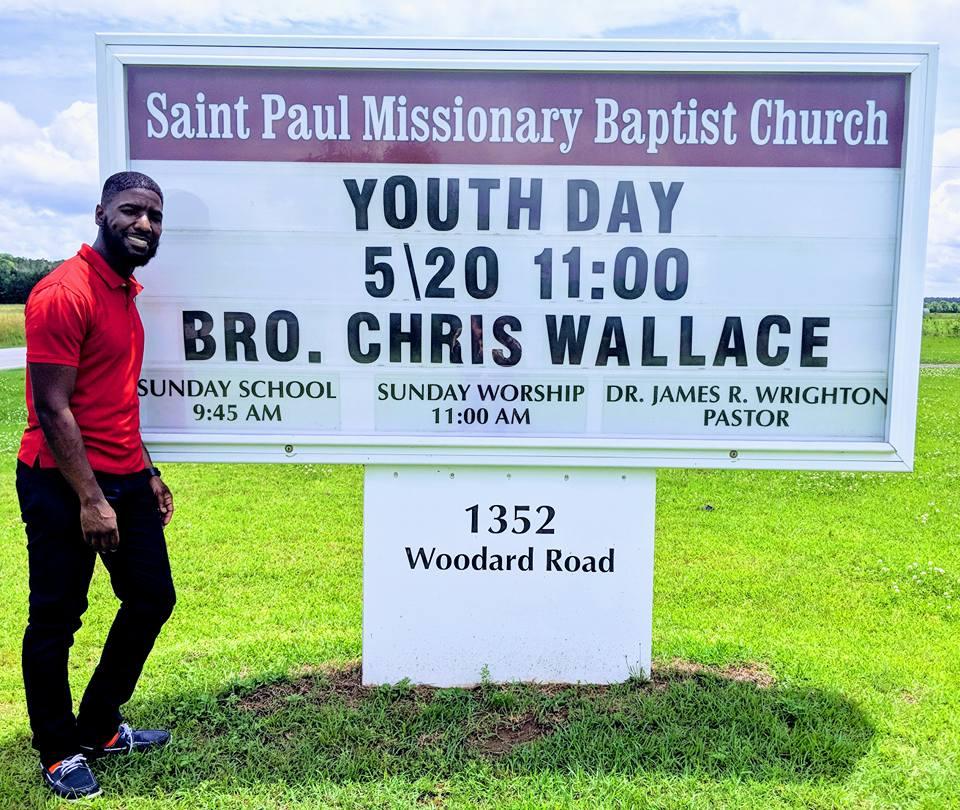 Chris visits Windsor, NC