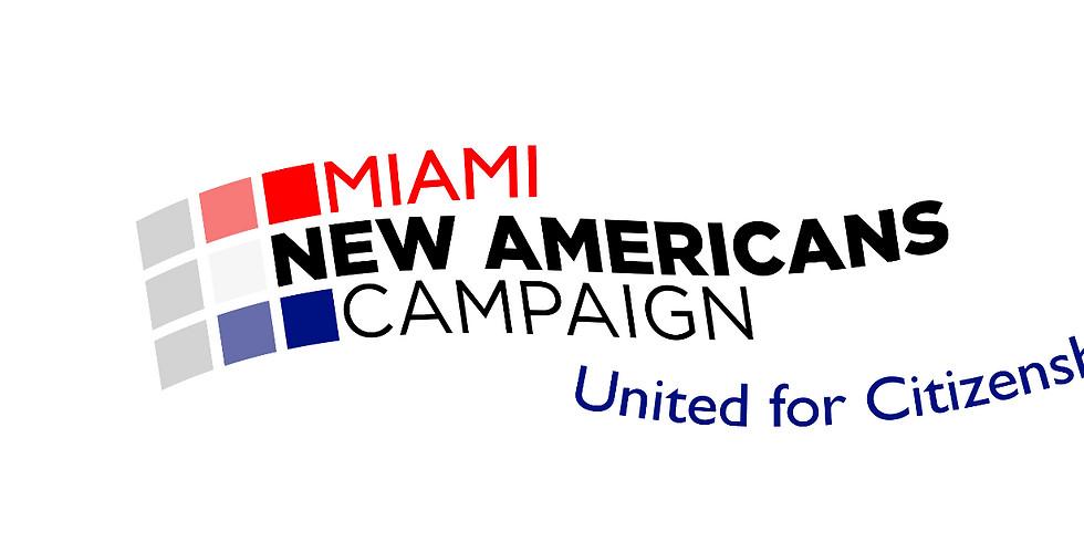 Miami NAC 2017 Citizenship MEGA Event