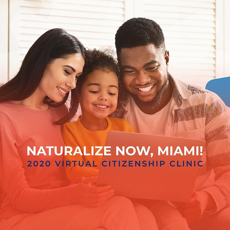 Naturalize Now, Miami!  - September 19