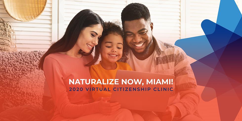 Naturalize Now, Miami!  - September 18