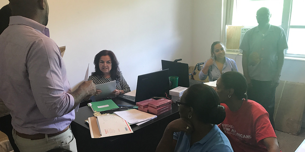 Citizenship Friday with Catholic Legal Services at our Downtown Miami Office