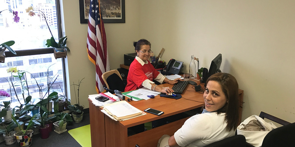 Citizenship Wednesday with Catholic Legal Services at our Hollywood Office