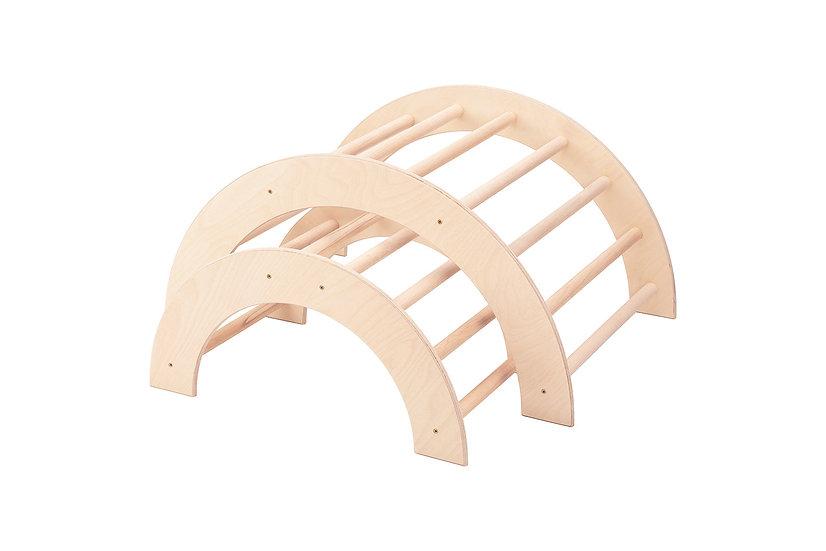 Kletterbogen / Bogenleiter, Zweier-Set, mittel-klein