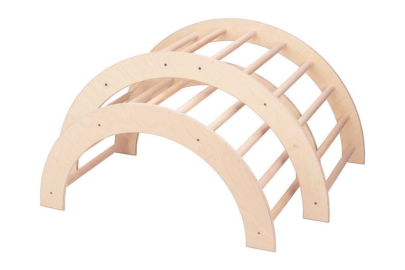 Kletterbogen / Bogenleiter, Zweier-Set, groß-mittel
