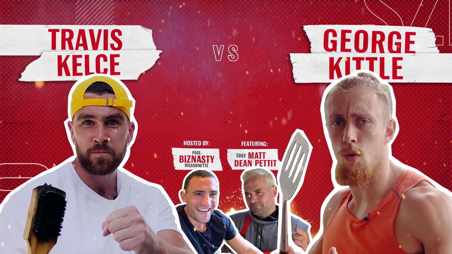 Budweiser - Battle of the Grill Kelce vs Kittle