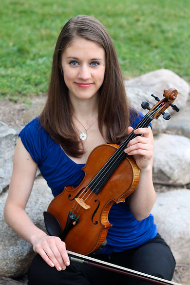Violinist Jennifer Berg is a performer and instructor