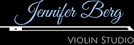 Jennifer Berg Violin Studio Logo inverte