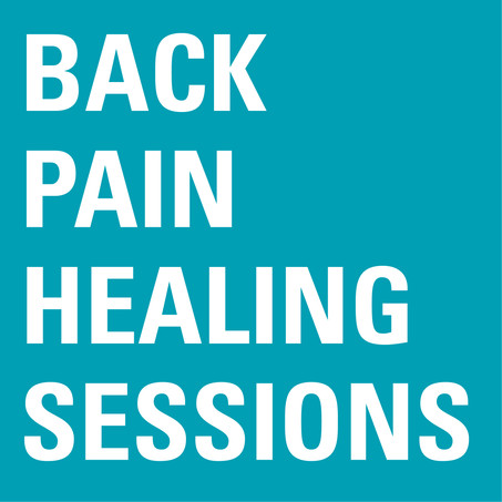 Back Pain Healing Sessions